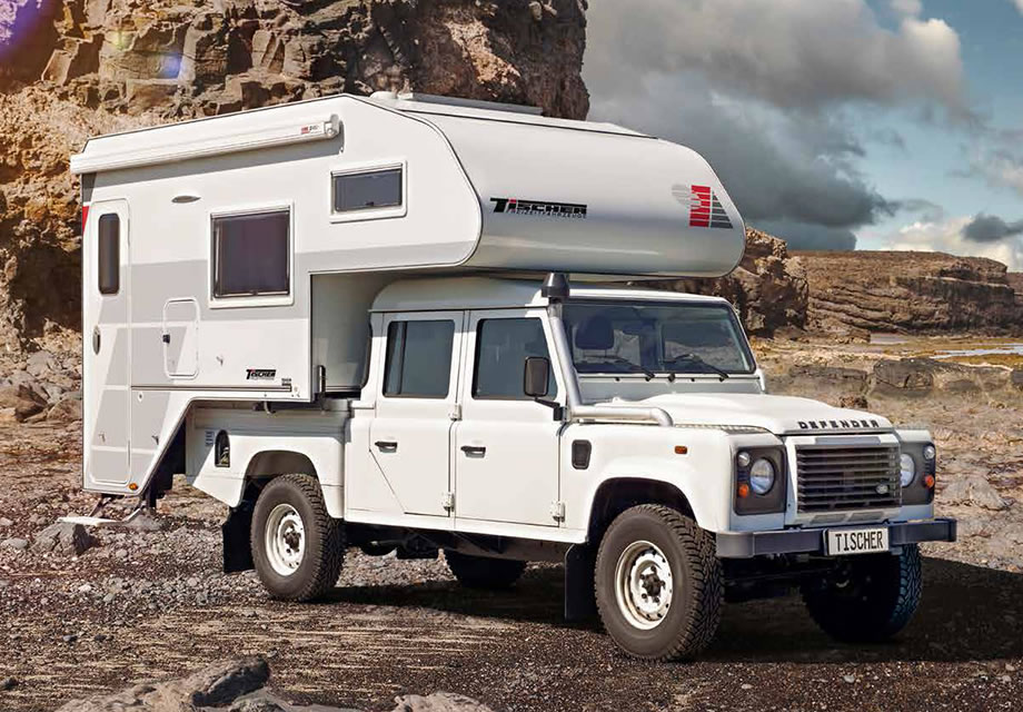 TRAIL 260 RS: auf Land Rover Defender 130